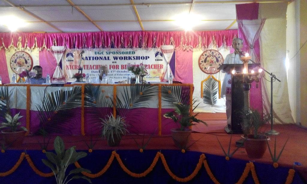 UGC Sponsored Workshop