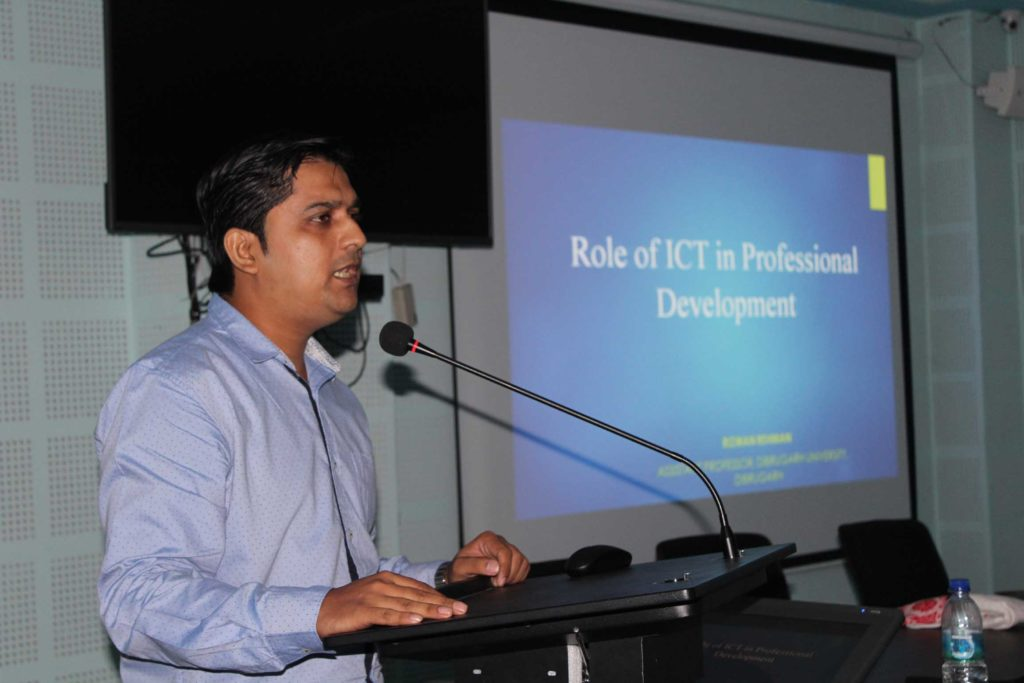 Workshop on ICT held on 6th & 7th Oct,2017