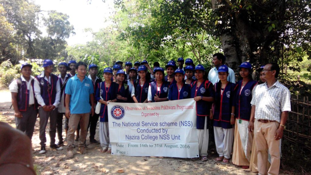 Outreach Prog. by the NSS Unit